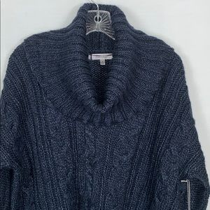 NWT Jennifer Lopez Cowlneck Cable-Knit Sweater S